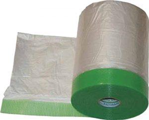 マスキングテープでカバー
