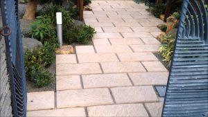 敷石を使った和風庭園の作り方