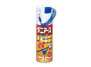 畳に針を刺して使用する、ダニ用の殺虫剤