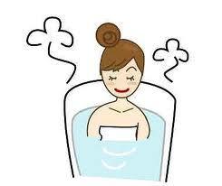 ぬるめのお風呂にゆっくりと浸かりましょう