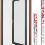 片開き窓などの小窓に、網戸の取り付け方 自分で簡単に取り付ける方法を紹介します