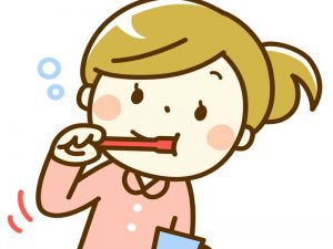 歯磨きをしっかり行う