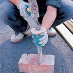 レンガの割り方について 自分で簡単に施工する方法を紹介します